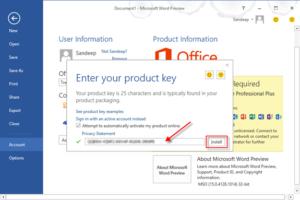 Microsoft Office 2013 Product Key Free 2021 Daily Lifetime Keys