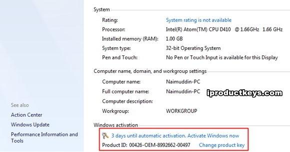 Working 2021 Windows 7 Professional Product Key Free 32 64 Bit