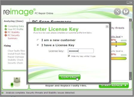 Reimage License Key Free 2021 Updated Activate Lifetime Key
