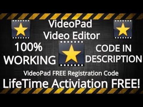 Videopad Registration Code Free 2021 Update Serial Keys