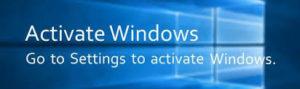 remove activate windows 10 watermark